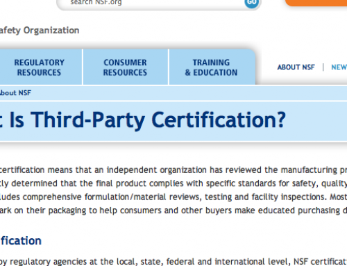 Third Party Certification (TPC)